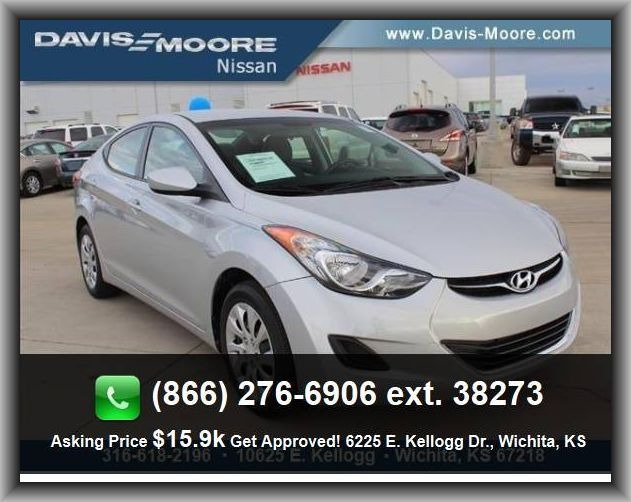 2013 Hyundai Elantra Gls Sedan External Temperature Display Rear Hip Room 52 7 Side Airbag Torsion Beam Rear Suspension P Hyundai Elantra Elantra Wichita