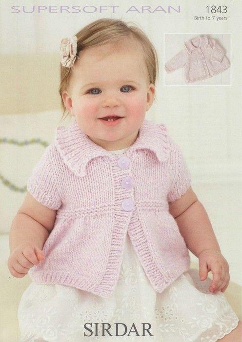 Sirdar--Cardigans (birth to 7 years)   vestidos   Pinterest ...