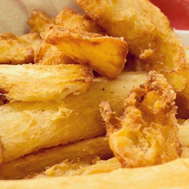 Forno di Casa - Aipim frito, crocante e sequinho. #fornodicasa www.fornodicasa.com.br