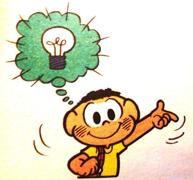 Hoje é o dia internacional da idéia!