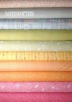 Noteworthy (10) - Fat Quarter Bundle by Sweetwater