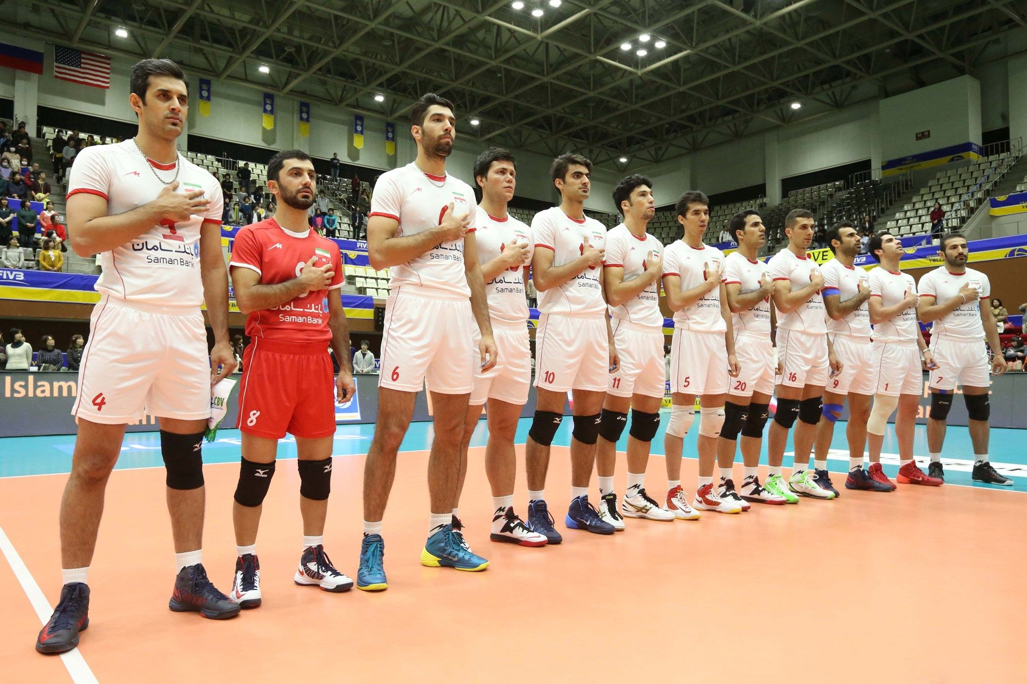 Iran Volleyball Team Wallpaper Volleyball Team Team Wallpaper Volleyball