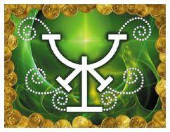 Runa celtica de la properidad de color verde significa - Feng shui para la prosperidad ...