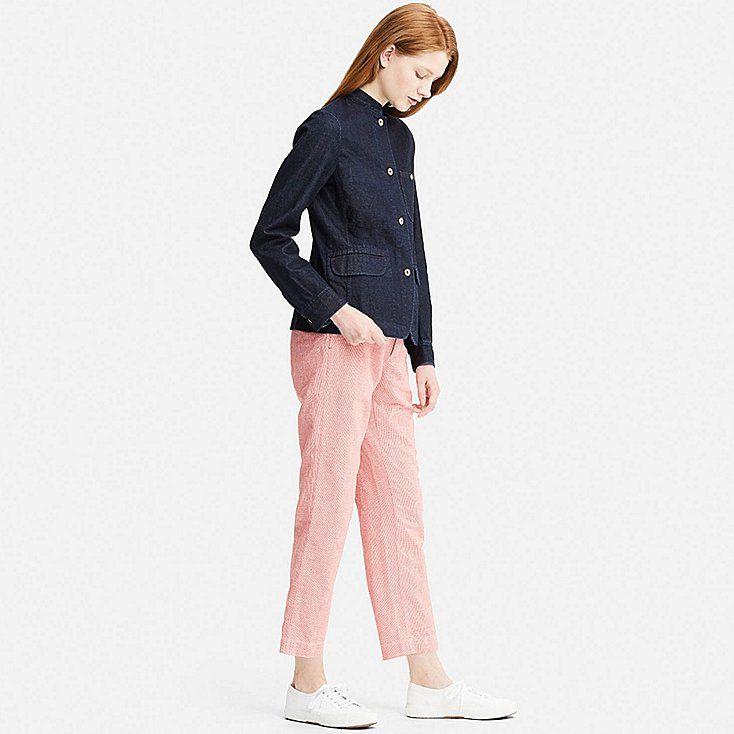 Uniqlo Idlf Denim Jacket Things To Wear Likes Jackets Denim