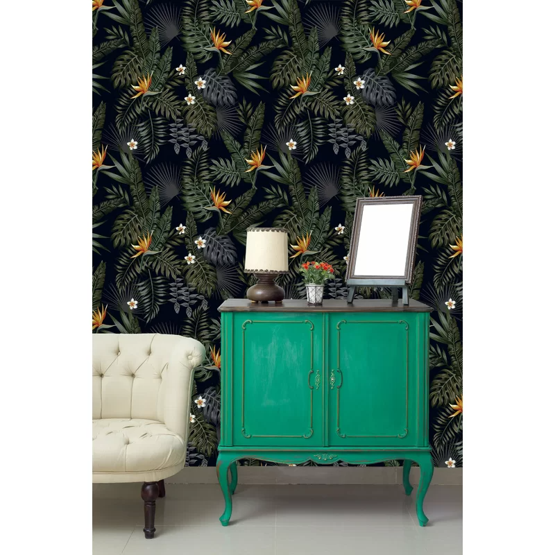 Dark Tropical Mix Paintable Wall Mural In 2021 Decor Home Decor Wall Wallpaper