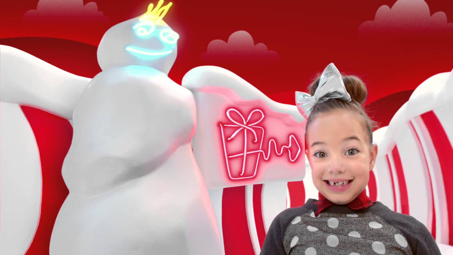 Target Christmas Commercial.Target Holiday 2014 Alice In Marshmallow Land Target