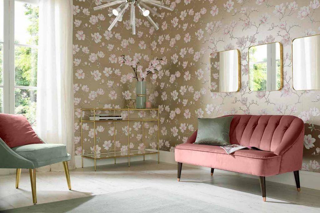 15 Fabulous Living Room Wallpaper Ideas To Enhance Your Home Interior Trending Decor Living Room Decor Styles Dining Room Wallpaper