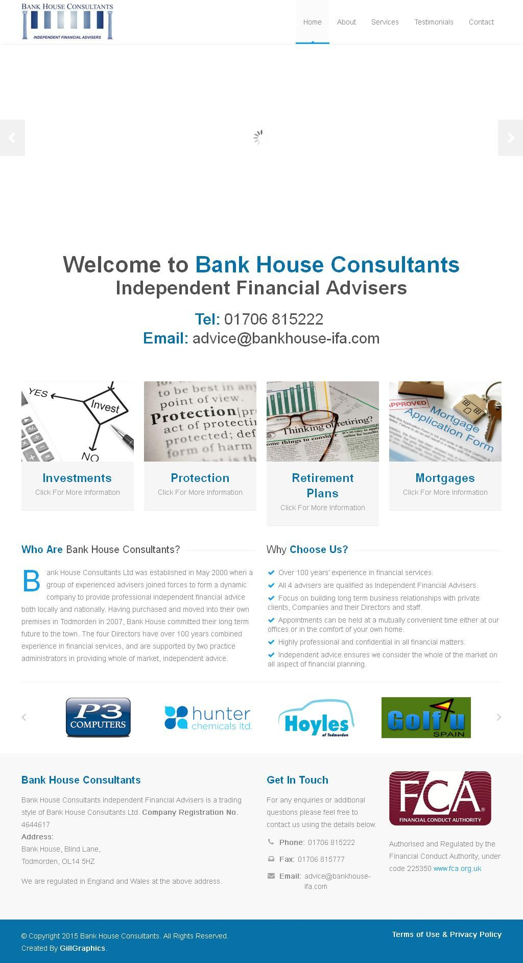 Bank House Consultants Financial Advisers (Independents