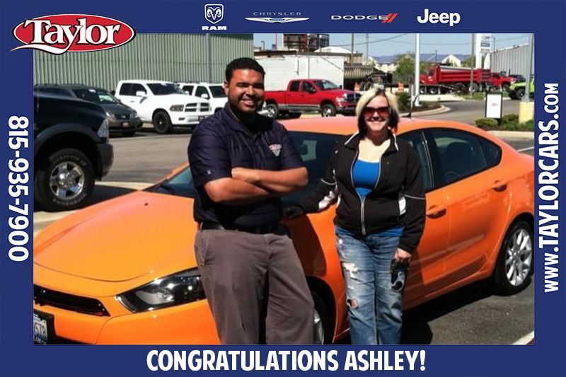 Congratulations To Ashley On The Purchase Of Her Awesome 2013