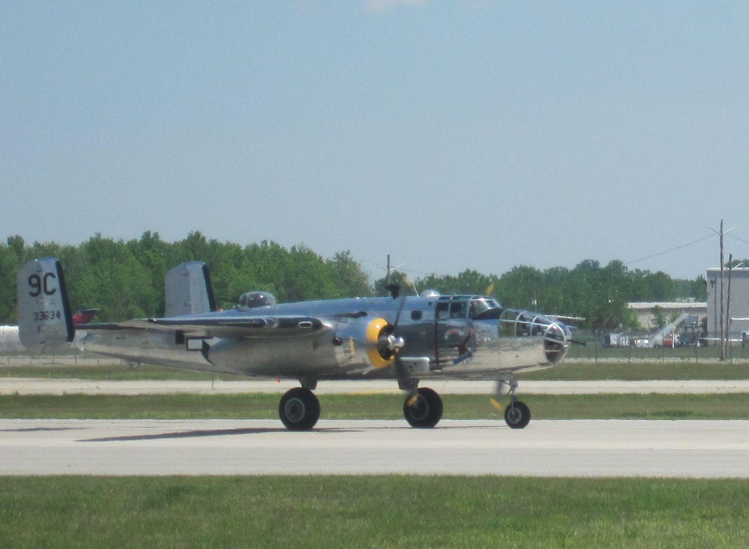 B25 from the Yankee Air museum Ypsilanti, MI Aviation