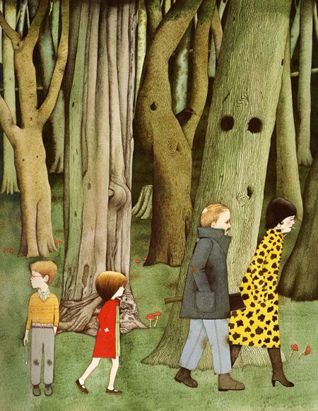 From Hansel and Gretel, illustrated by Anthony Browne ...
