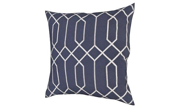 Pillow-Skyline Navy - 3D Warehouse Cushions b9f300a07