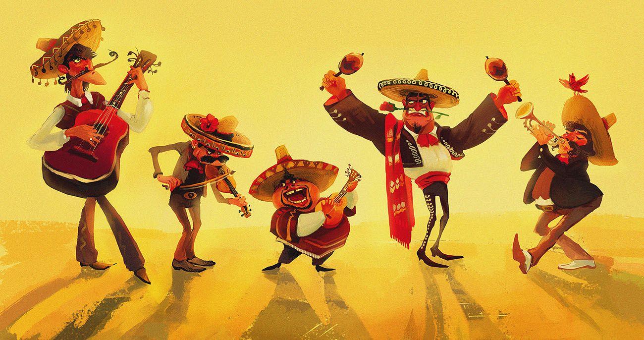 это смешные картинки про мексиканцев решила более