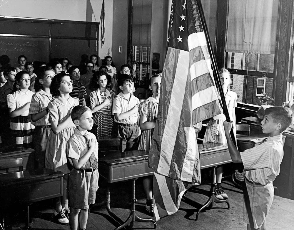 Image result for 1950s school