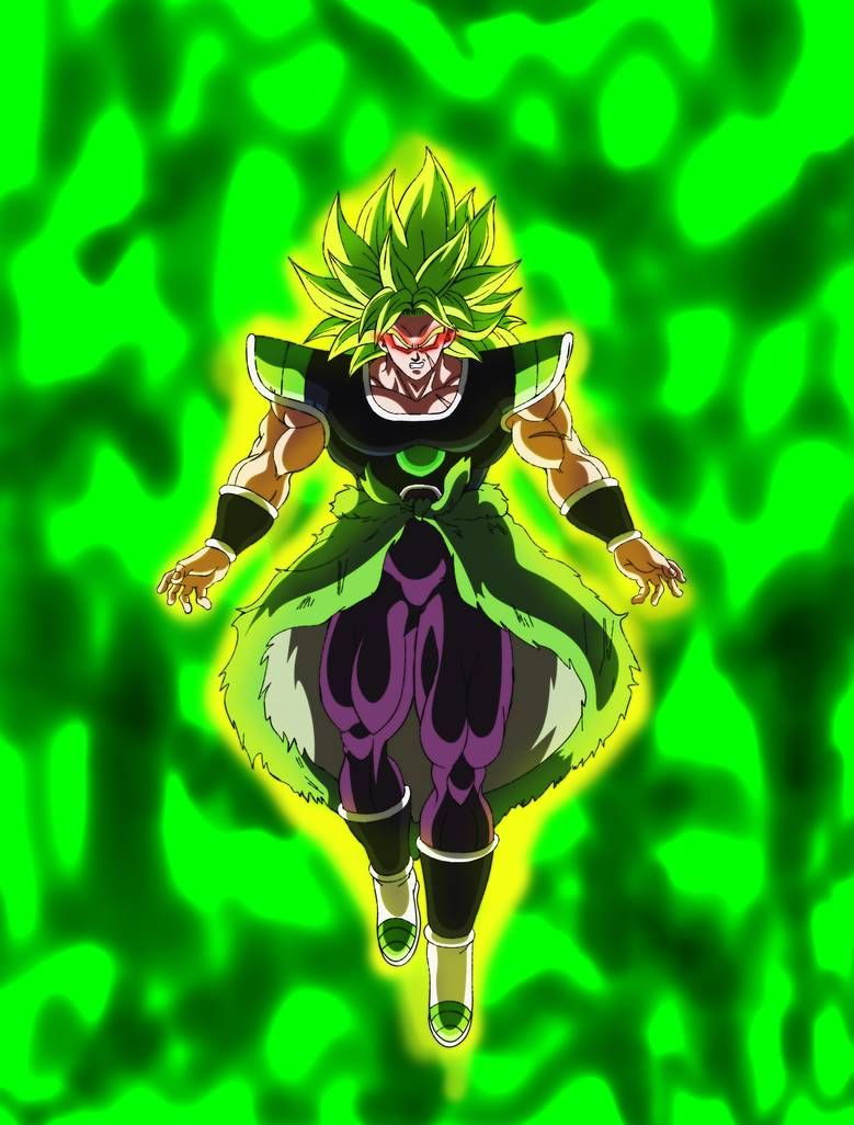 Broly Legendary Ssj by Andrewdb13 on DeviantArt