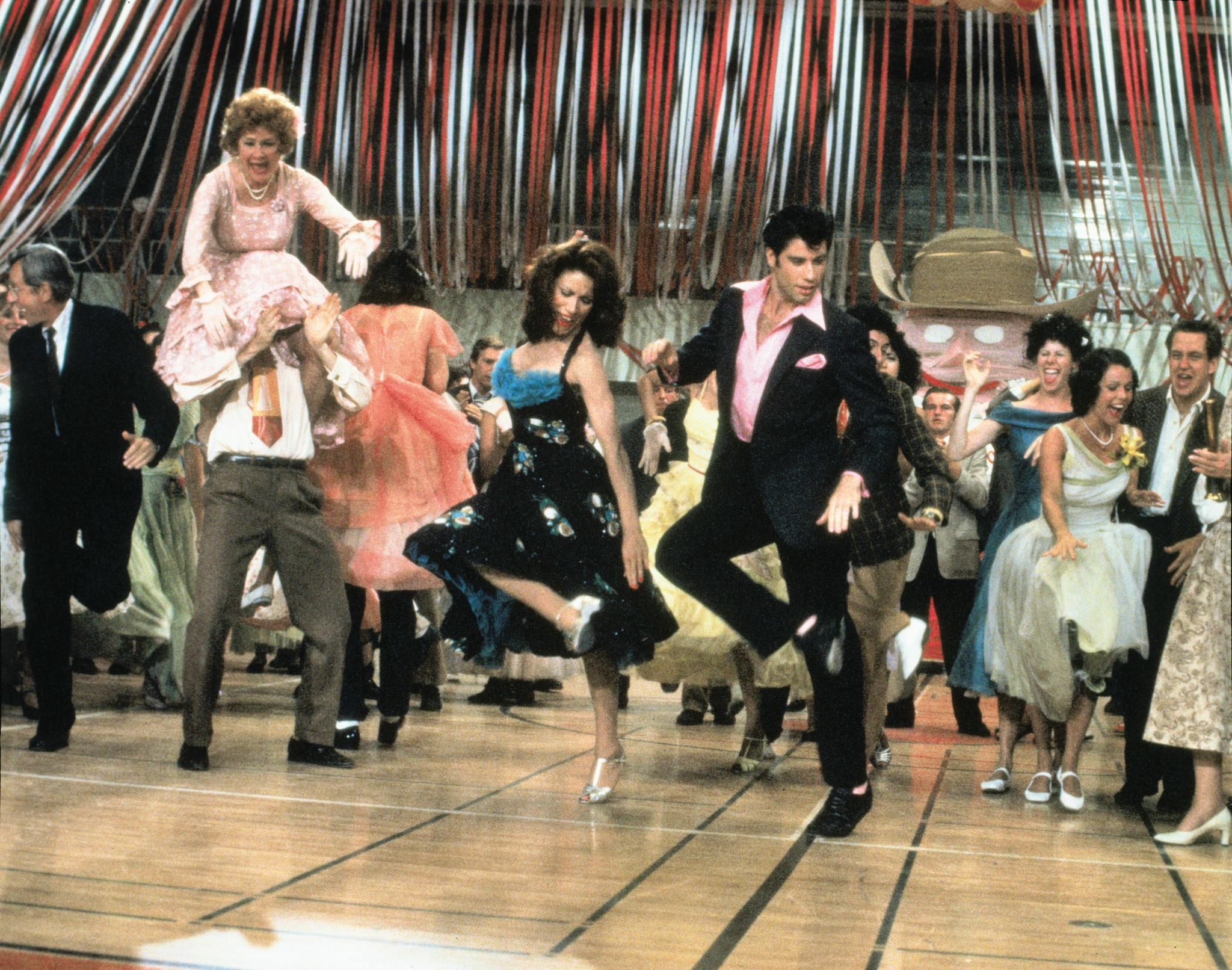That's the stuff. Born to hand jive, oh yeah! | Grease dance, Grease movie, John  travolta