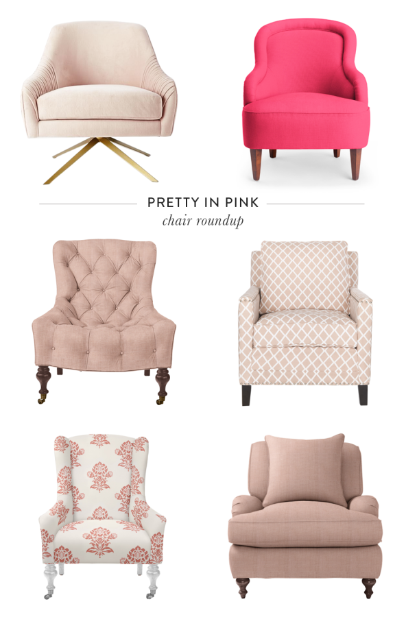 Exceptionnel The Prettiest Pink Armchairs That Will Make Your Living Room POP:  Http://www.stylemepretty.com/living/2016/03/02/12 Pink Chairs  That Steal The Show/