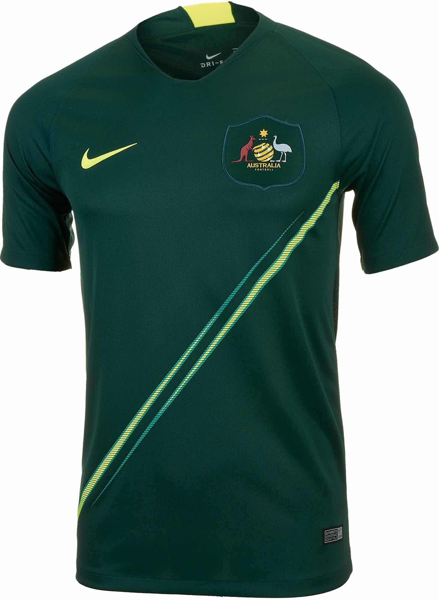 525d4e1f985 Nike Australia Away Jersey 2018-19 | World Cup Soccer Jerseys & Gear ...