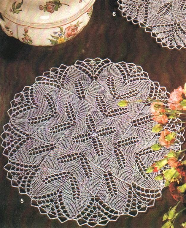 Kira Knitting Scheme Knitted Tablecloths 11 Kiraknittingspot