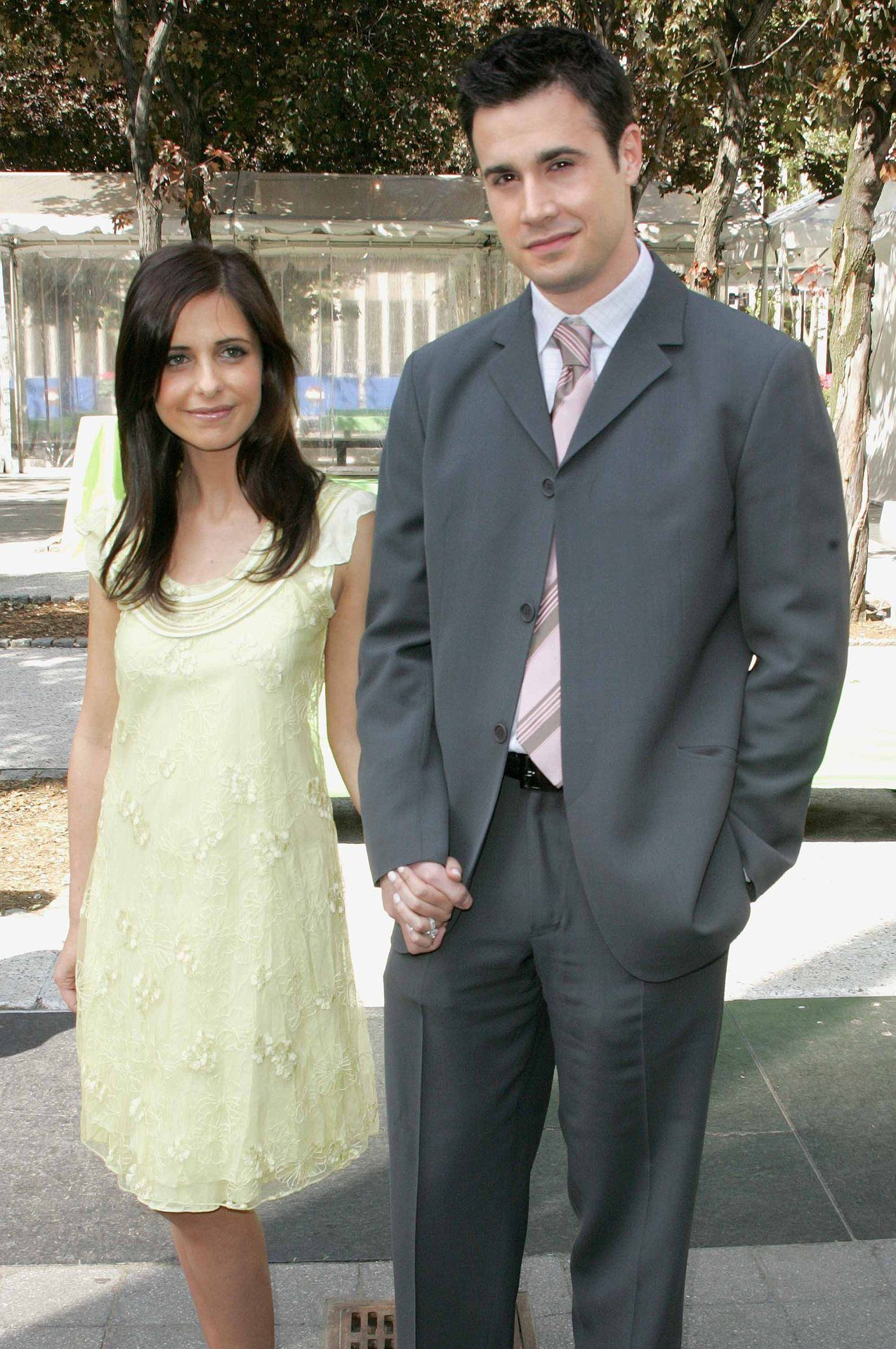 Famous S Photographs Celebrity Sarah Michelle Gellar Fred Prinze Jr
