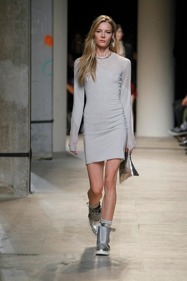 Zadig & Voltaire Spring-Summer 2014 Fashion Show #ParisFashionWeek #Zadig #zadigetvoltaire #dress