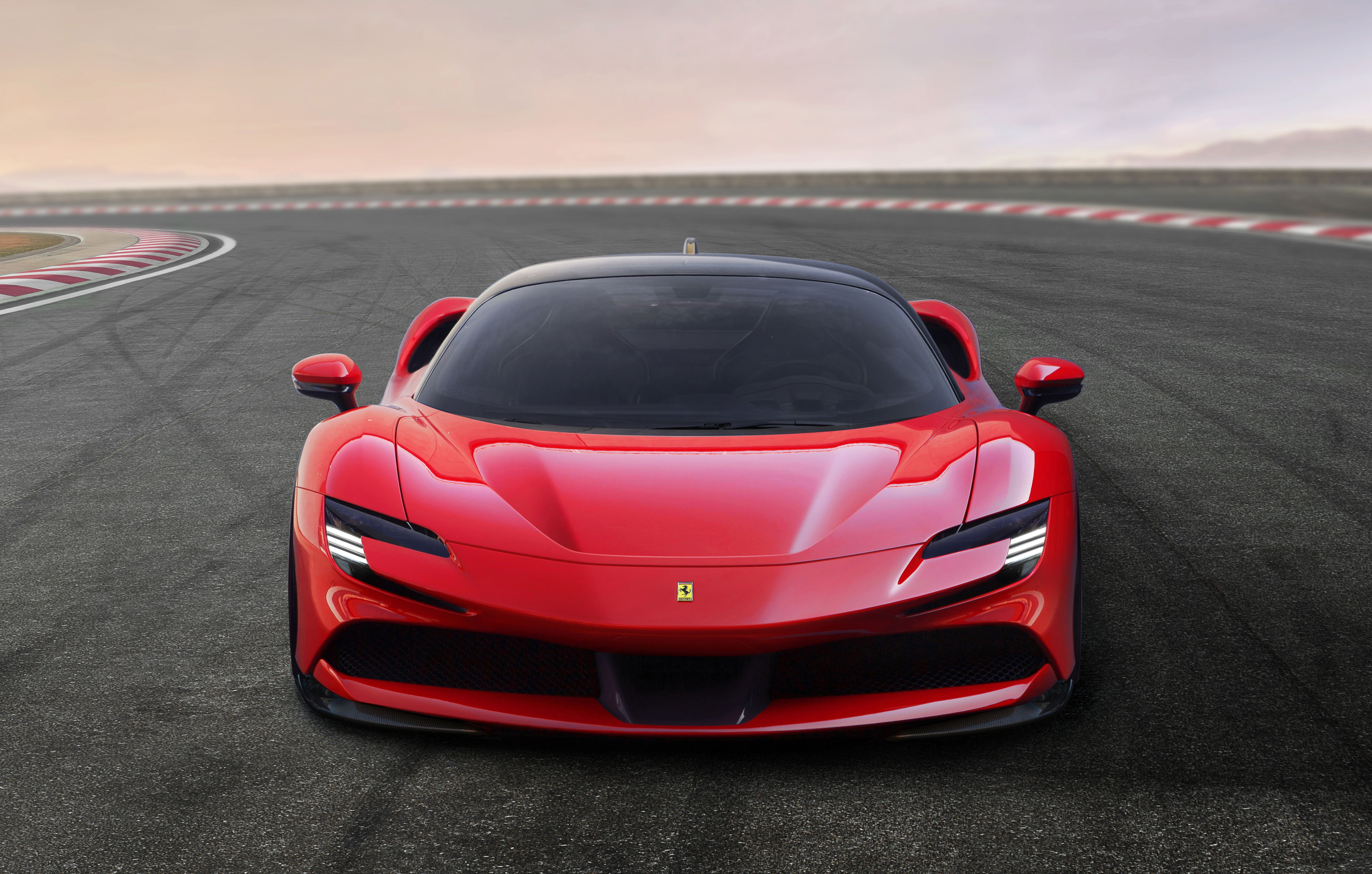 The Ferrari Sf90 Stradale Marks Progress And Breaks A Lot Of In House Records Top Speed New Ferrari Sports Car Ferrari