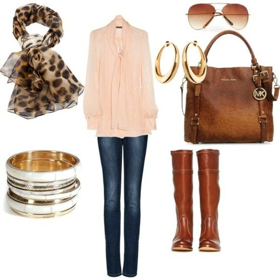 rose colored blouse for fall