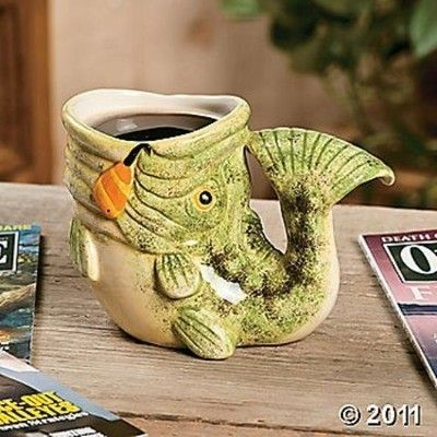 Coffee Mug Home Shaped Fish New Unique EbayFor On The wPXNnkO80Z
