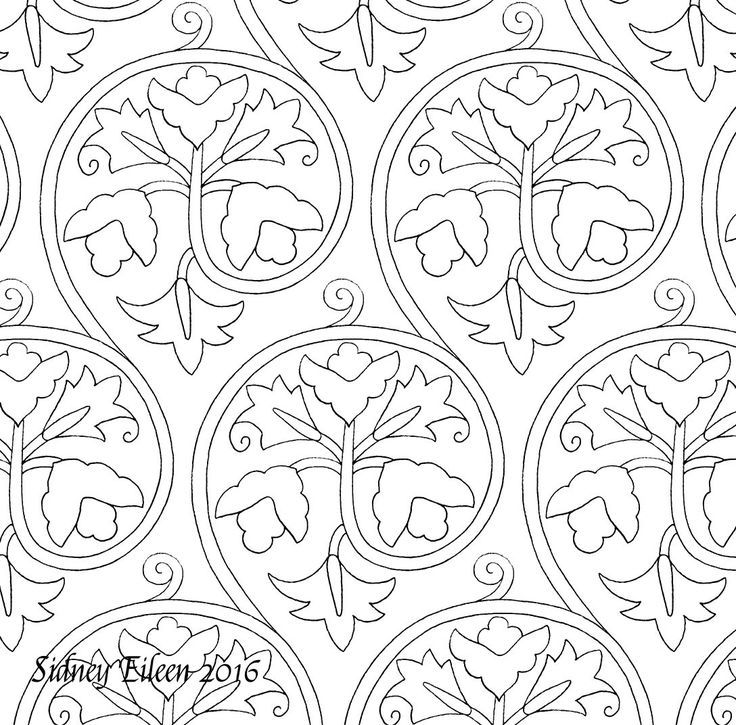 Freehand blackwork embroidery patterns, all appropriate for 16th and ...