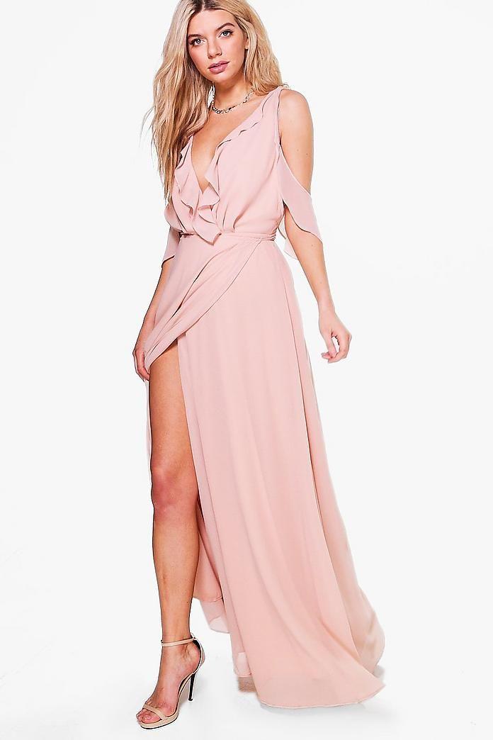 Turnt Up To The Maxi Dress | Dresses, Maxi dress, Wrap dress
