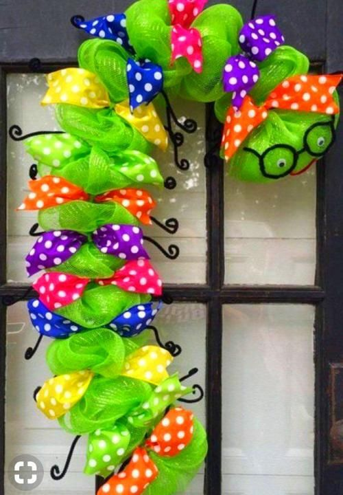 Christmas Door Decorations For Work #christmasdoordecorationsforschool Braided hairstyles Excited to share this item from my #etsy shop: Bookworm wreath, back to school wreath, teacher appreciation wreath, classroom wreath, library wreath, caterpillar wreathBraided hairstyles Excited to share this item from my shop: Bookworm wreath, back to school wreath, teacher appreciation wreath, classroom wreath, library wreath, caterpillar wreath #christmasdoordecorationsforschool