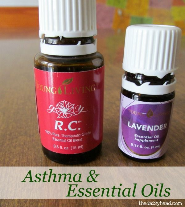 """Asthma and Essential Oils for asthma.  """"After a week, 3 trips to the doctor, albuterol every 4 hours, a burst of prednisone, a round of zithromax, and beginning an inhaled steroid, I was no better. I was still having asthma attacks several times a day.""""  Just breathing in a drop of undiluted lavender essential oil rubbed on palms, or breathing the RC oil (blend of oils) from a cotton ball placed nearby or on bedside table is enough to keep this lady from severe multiple asthma attacks a day."""