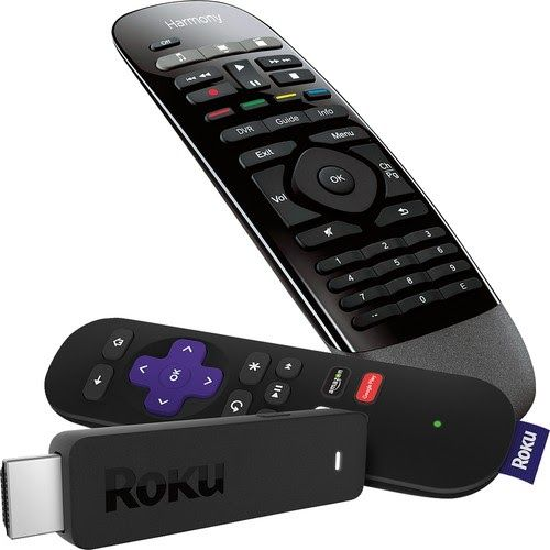Logitech Harmony Smart Control and Roku Streaming Stick Package $99.98 (Retail $179.98)