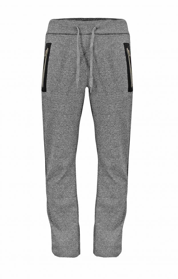 ae16a471c60 Ανδρικό παντελόνι φόρμας με ρίγα   Άνδρας - Φόρμες Αθλητικές   Γκρι ...