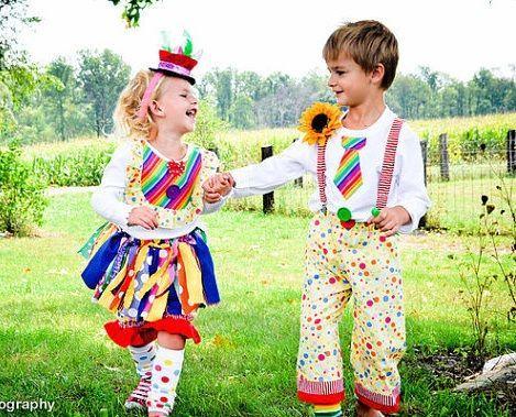 disfraz de payaso casero Disfraz Pinterest Costumes Baby