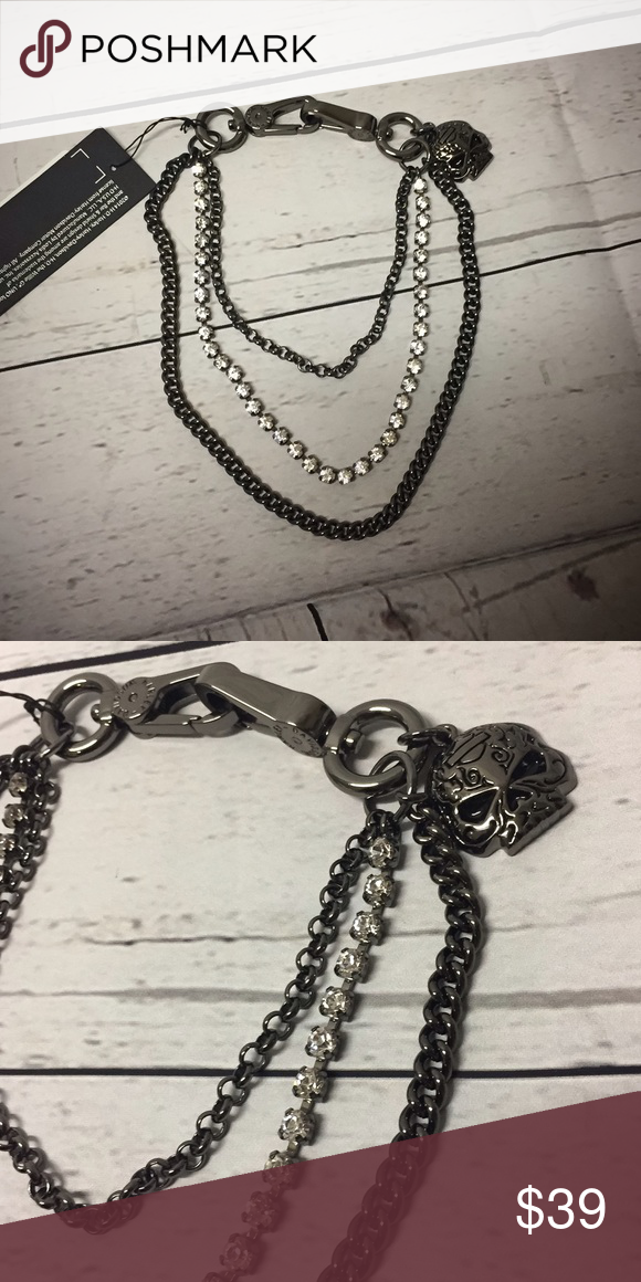 e219885c836e Harley-Davidson® Sugar Skull Swag Chain Super unique piece! Clips at each  end
