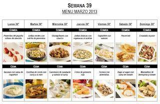 Semana 39 men mensual abril 2013 men mensual d as de for Cocinar una tarde para toda la semana