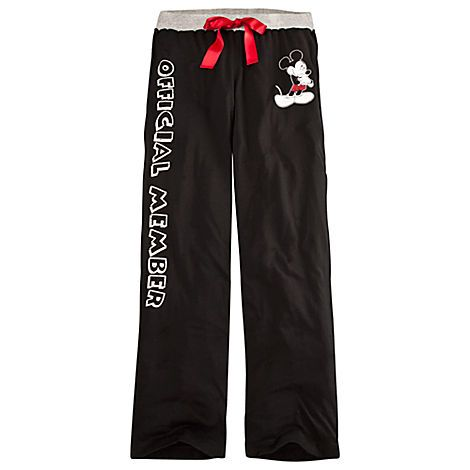 7f62ac219b   Official Member   Mickey Mouse Lounge Pants for Women