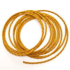 Fabric Covered Cable Golden, 17€, now featured on Fab.