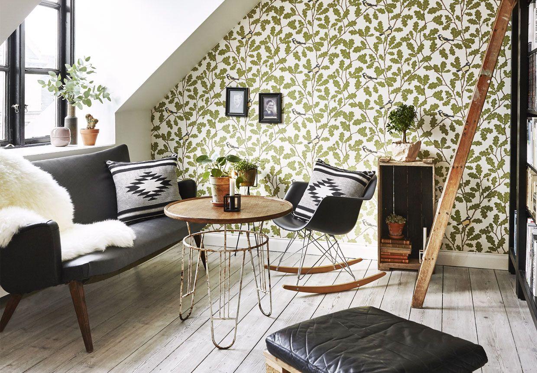 Come arredare una mansarda in stile vintage green living for Mobili danesi