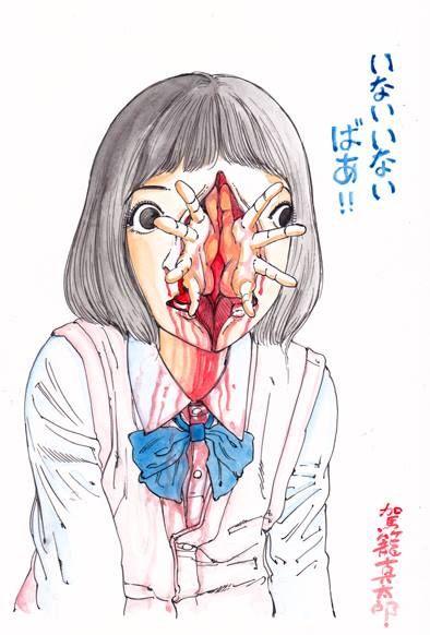 doctormeloku:  Shintaro Kago  via: Yellowmenace