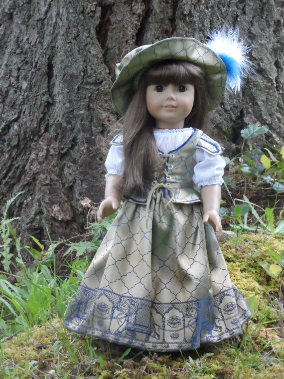 OOAK Renaissance, Medieval gown for your American Girl by ...