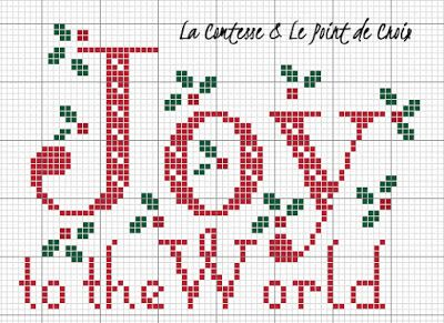La Comtesse & Le Point De Croix | Cross stitch embroidery, Cross stitch christmas ornaments ...