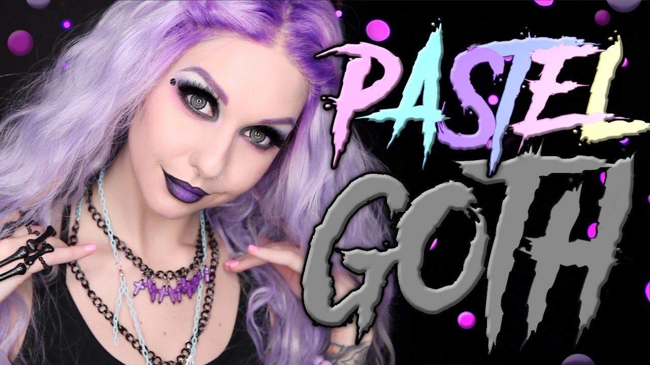 Pastel Goth Makeup Tutorial 2017 Pastel goth makeup