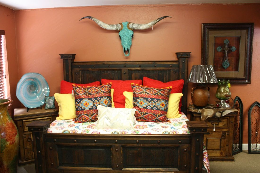 Western bedroom wall decor - Western Decor Rustic Tables Southwestern Furniture Agave Ranch Agave Ranch