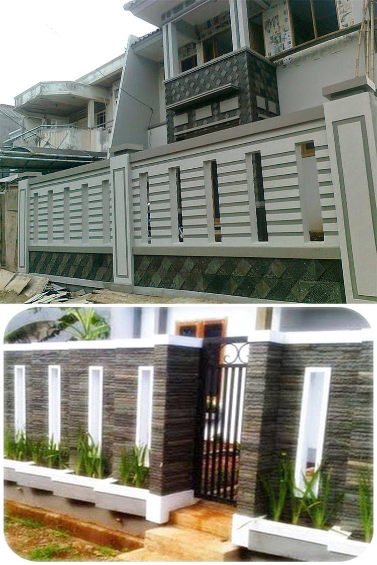 Model Pagar Tembok Minimalis Yang Keren Minimalis Rumah