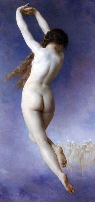 Verlorene Welt von William Adolphe Bouguereau