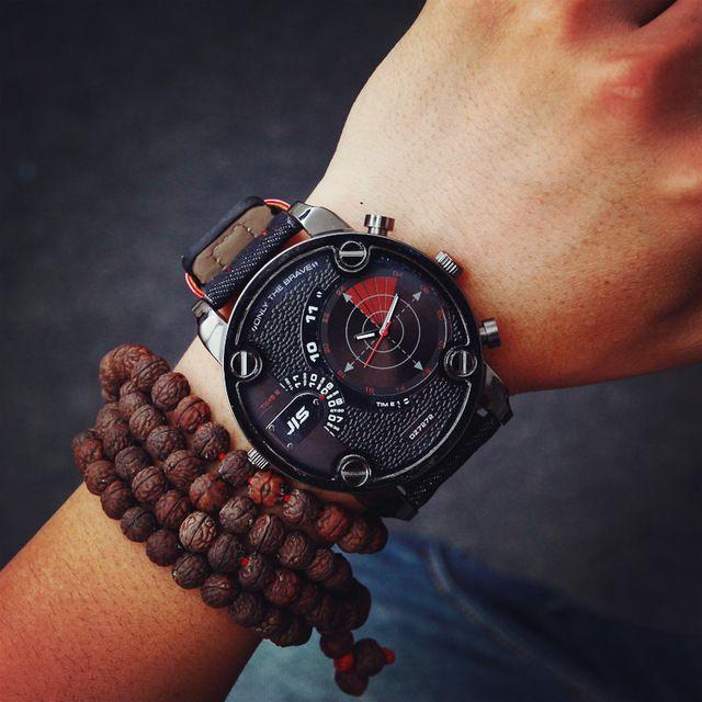 7275e09d83b Big Watches Men Luxury Watch Men Brand Quartz Watch Outdoor Dress  Wristwatches Military Watch relogios masculinos