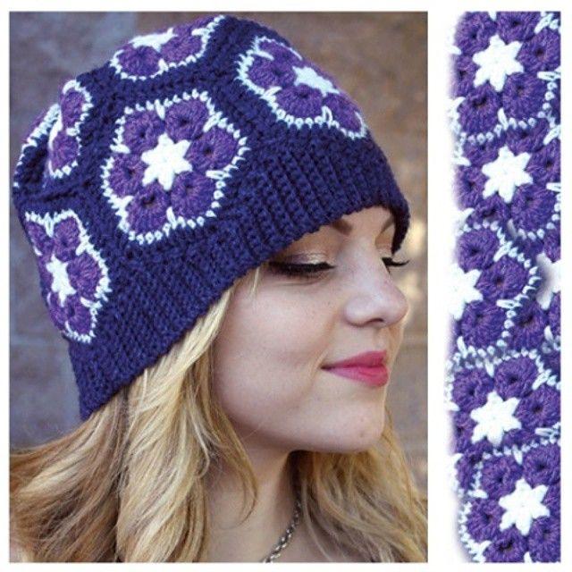 Pin de Anchor Nuch en Crochet pattern | Pinterest | Flores africanas ...