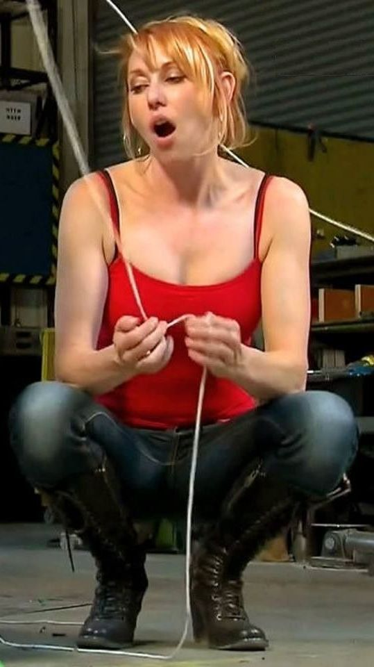 mythbusters kari hot nude